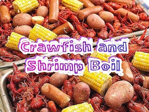 How To Boil Crawfish And Shrimp - Louisiana Style