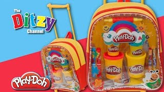 Play-doh Activity Trolley Bag Toy Play Set Unboxing & Review By Dtse The Ditzy Channel