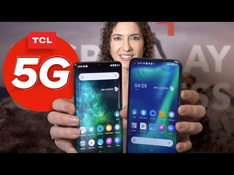 TCL Pro 10 hands-on: A curved screen and 5G for just $500