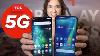TCL Pro 10 hands-on: A curved screen and 5G for under $500