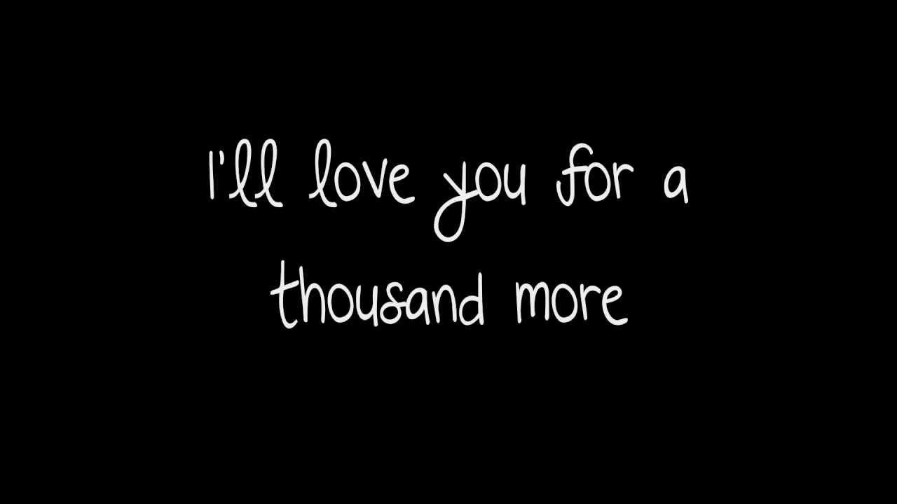 Search a thousand years titanic lyrics - GenYoutube