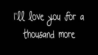 A Thousand Years - Christina Perri (HD/HQ/FULL/LYRICS ON SCREEN)