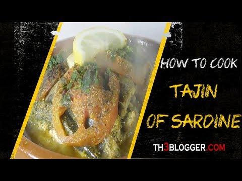 how to cook tajin of sardine   Moroccan food   th3 blogger