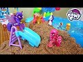 My Little Pony Beach Vacation Pool Party! Part 2 | Mommy Etc