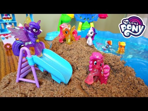 My Little Pony Beach Vacation Pool Party! Part 2  Mommy Etc
