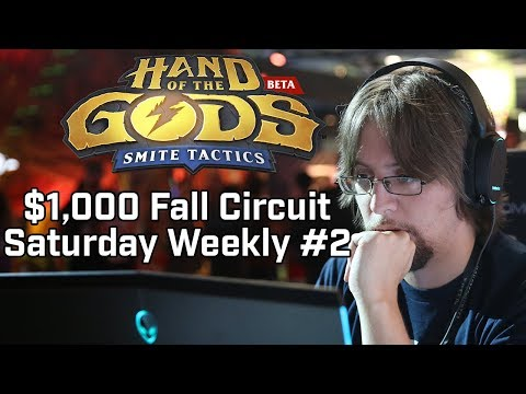 Hand of the Gods $1000 Fall Circuit Weekly #2