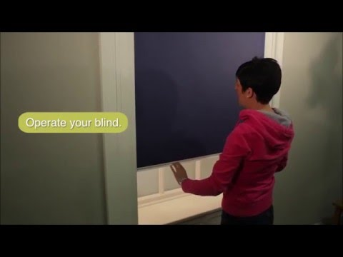 How to fit a Total Blackout Cassette Roller Blind