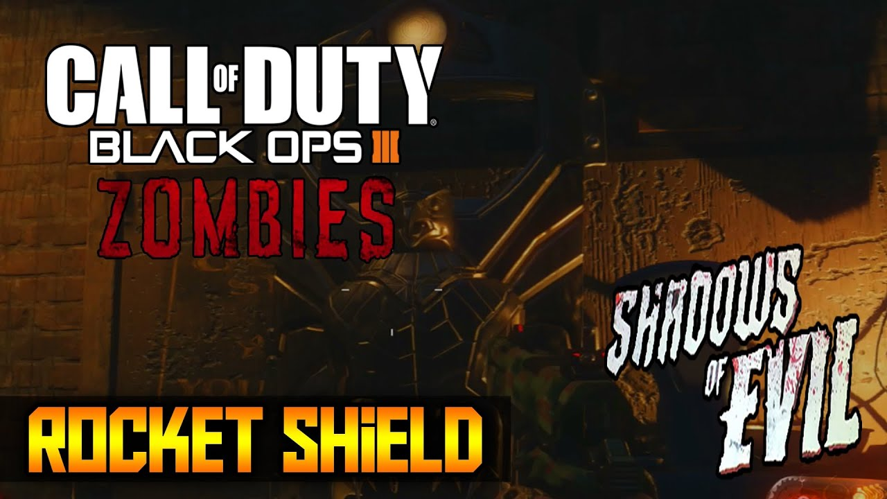 Call Of Duty Black Ops 3: How To Craft The Zombie Shield