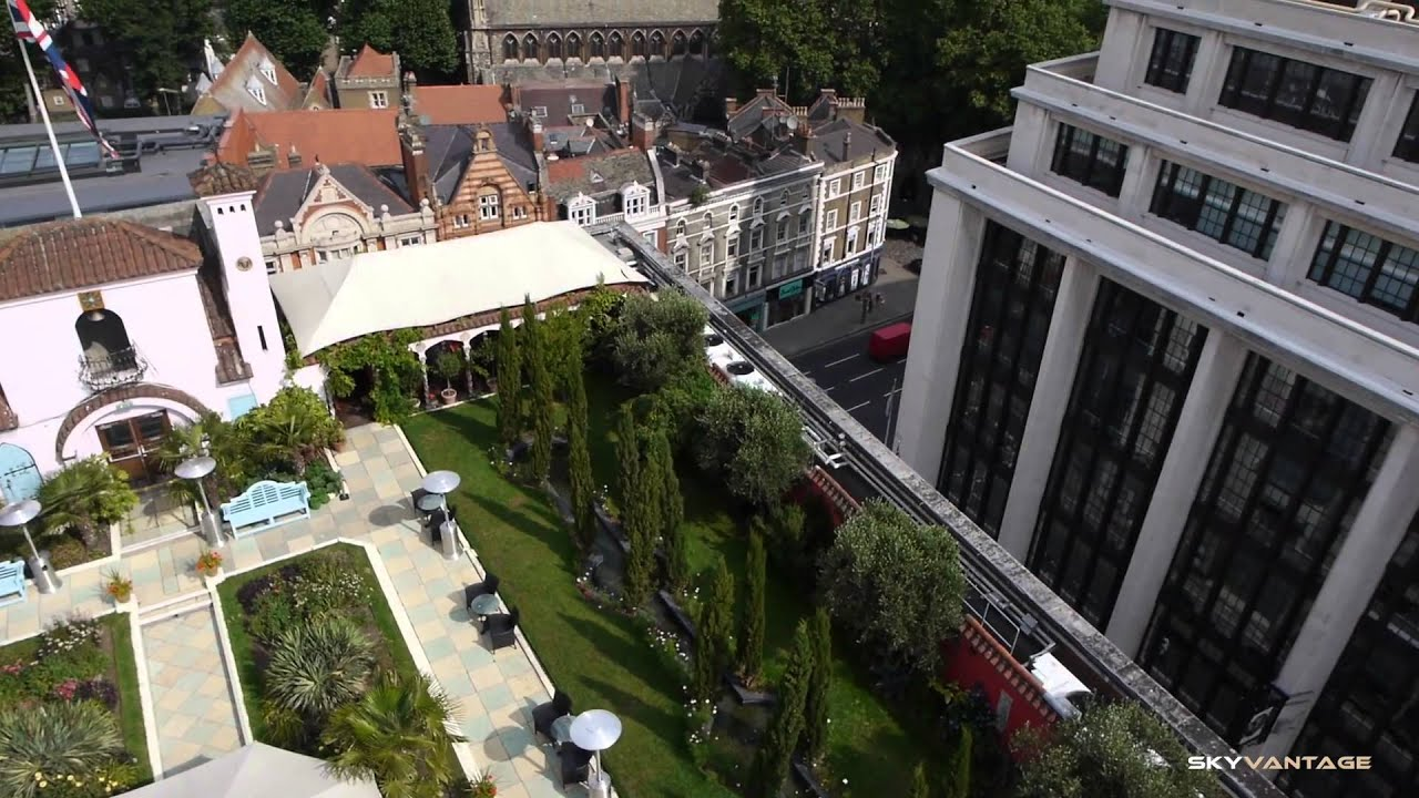 Delightful Aerial Filming In London   Kensington Roof Gardens (filmed With A Remote  Controlled Hexarotor)   YouTube