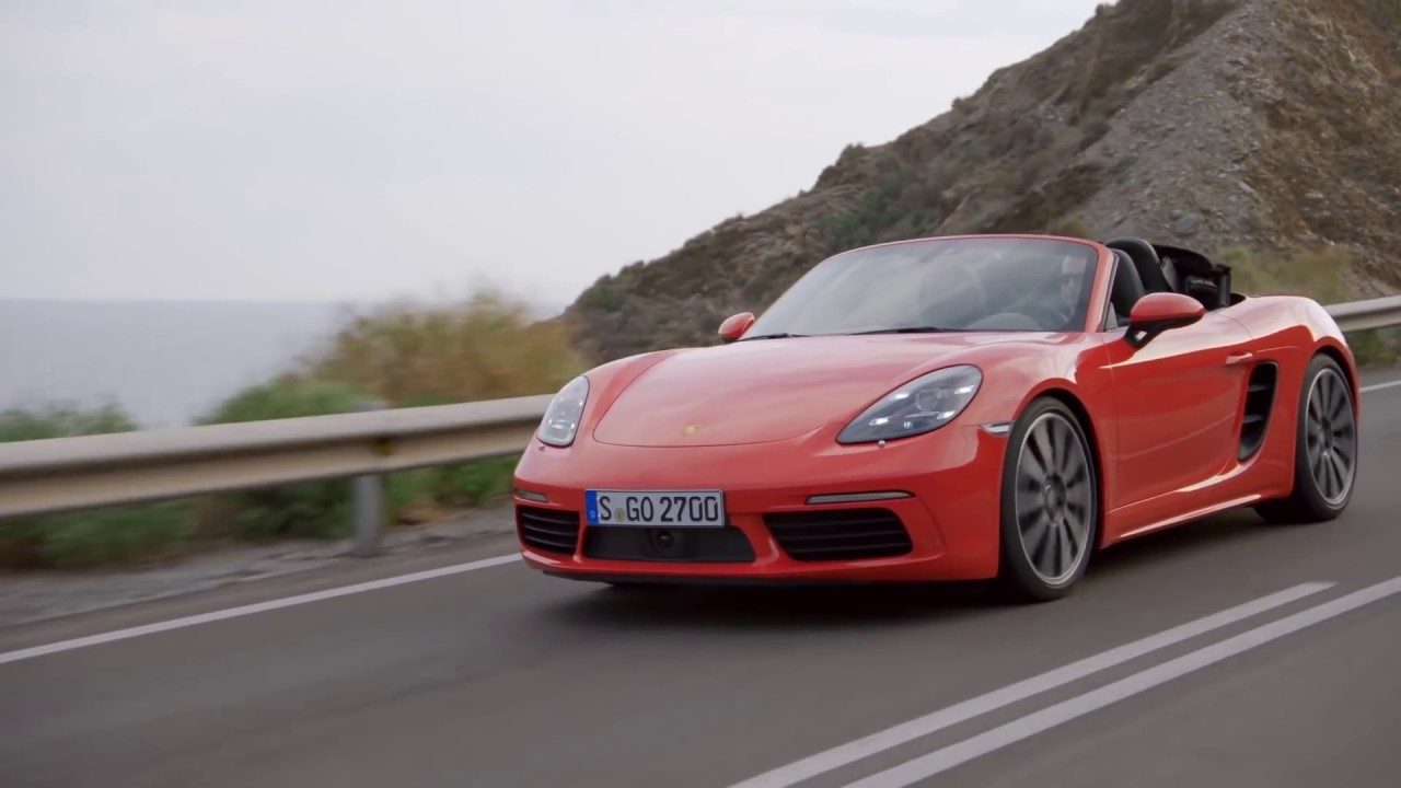 2017 Porsche 718 Boxster S 0 100 Km H Acceleration And Engine Sound You
