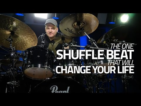 One Shuffle Drum Beat That Will Change Your Life - Drum Lesson (DRUMEO)