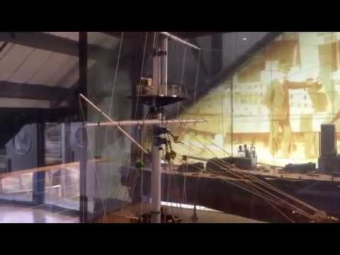 Ship Model of HMS Vengeance, 1899 at the Dock Museum, Barrow in Furness