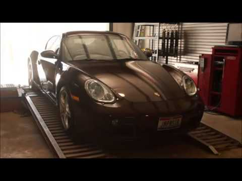 Porsche Cayman S Stock Power testing on RDP Dyno
