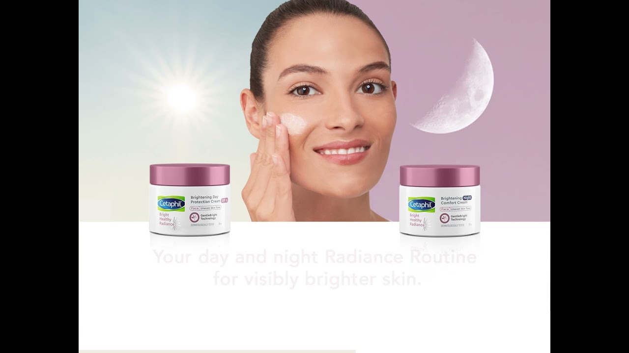 Cetaphil Bright Healthy Radiance Day Protection Cream SPF15 and Brightening Comfort Cream