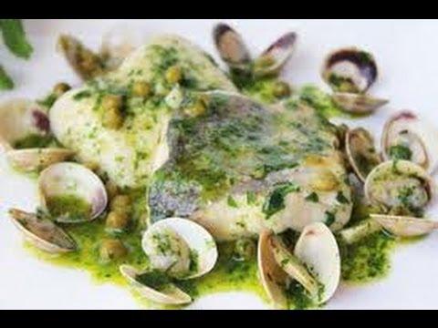 Receta De Merluza En Salsa Verde Recetas De Cocina Youtube