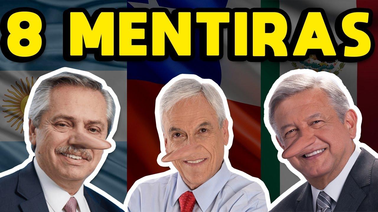 CORONAVIRUS: 8 MENTIRAS DEL GOBIERNO FRENTE A LA PANDEMIA EN CHILE, MÉXICO Y ARGENTINA (Covid-19)