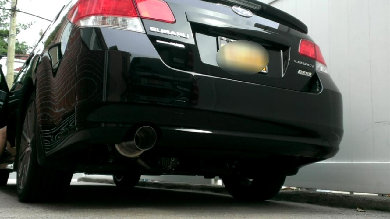 2014 subaru legacy sport perrin axle back exhaust. Black Bedroom Furniture Sets. Home Design Ideas