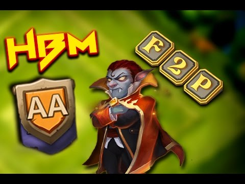 Castle Clash: HBM - AA ❚ F2P