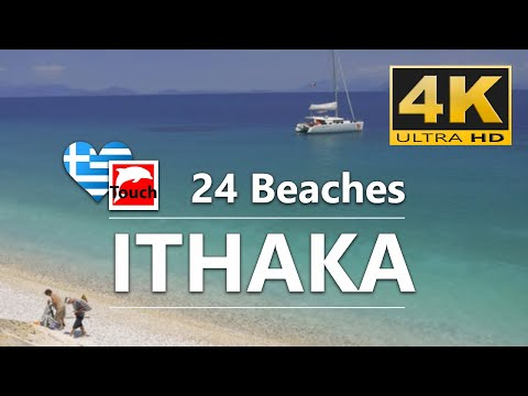 24 Beaches of Ithaca Island, Greece - 10 min., 4K