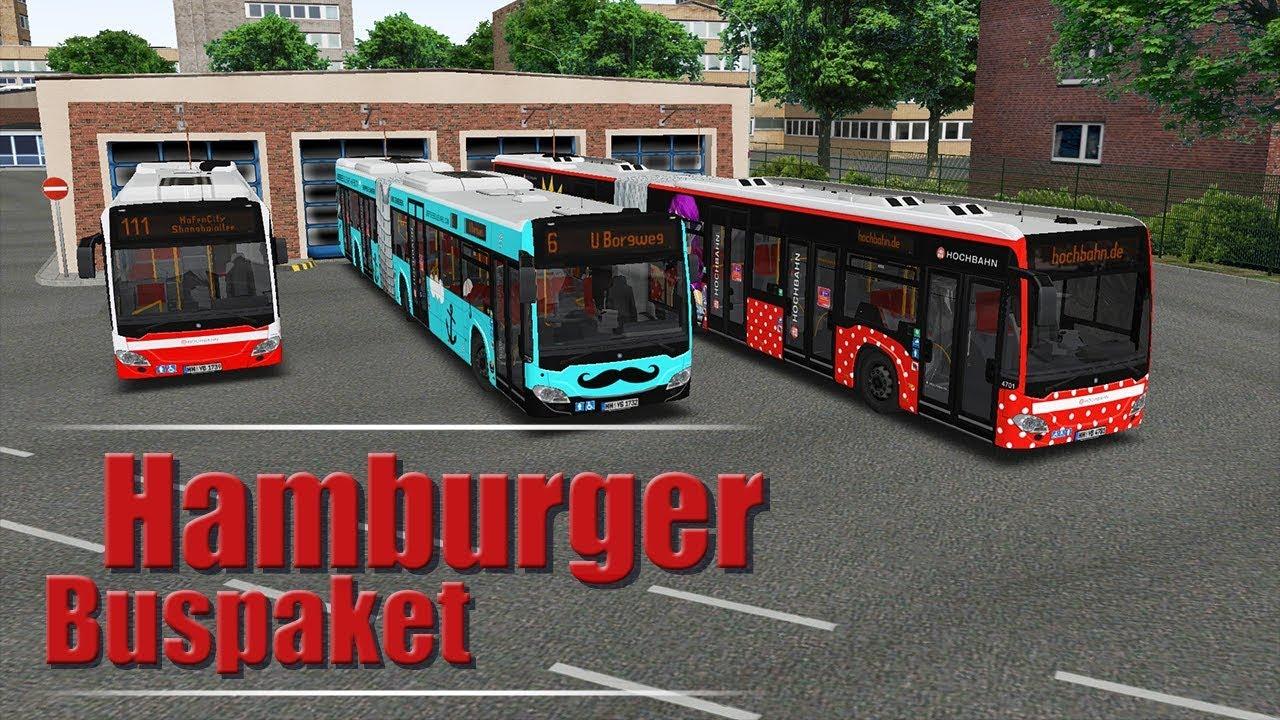 OMSI 2 Add-on Hamburger Buspaket | Aerosoft Shop