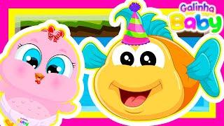 Peixe Amigo - Desenho Infantil - Galinha Baby (Música Infantil Educativa)