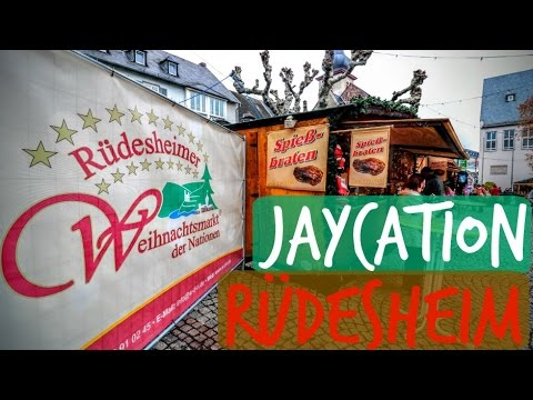 Rüdesheimer Weihnachtmarkt | Christmas Market Guide | Jaycation Germany Vlog