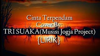 Download Cinta Terpendam Lirik Cover By TRI SUAKA (acoustic cover lirik lagu) Mp3