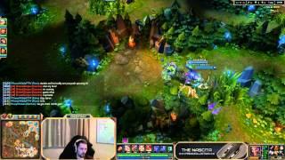 Doublelift coaching Destiny [Game 1] - League of Legends LoL