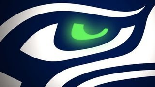 Seahawks- Blue and Green