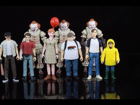 Funko It movie 2017 Pennywise the clown & the Losers club 3.75 inch figure review