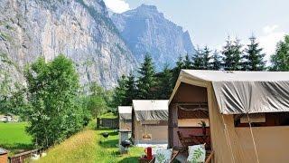Camping Jungfrau - Lauterbrunnen, Schweiz