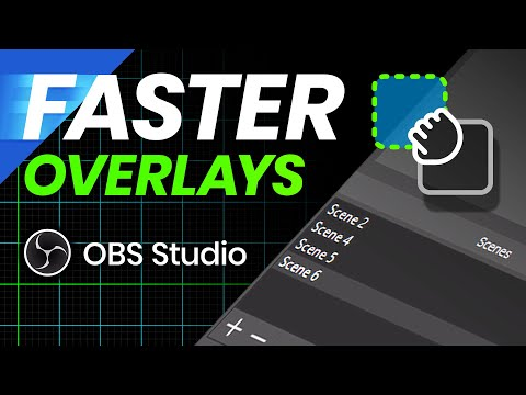 FASTER Overlay Set Up In OBS Studio