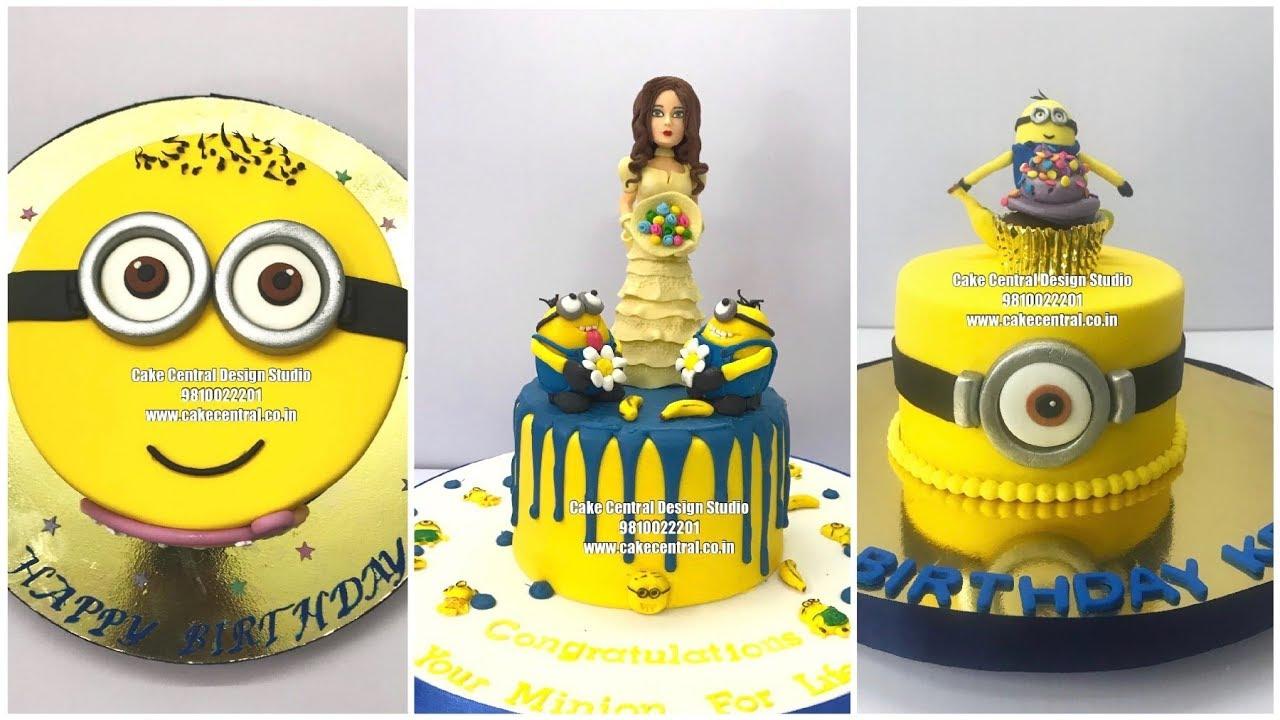 Minions Cakes Designs Minion Cakes In Delhi Cake