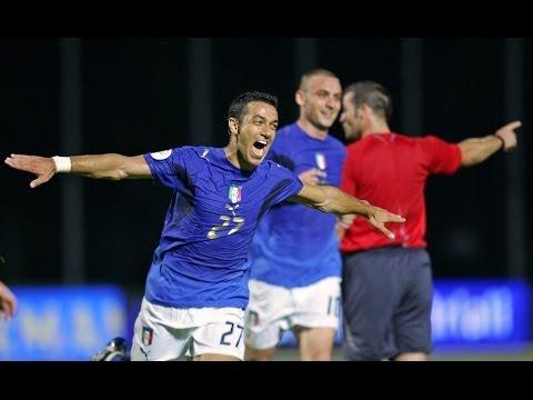 Highlights: Lituania-Italia 0-2 (6 giugno 2007)