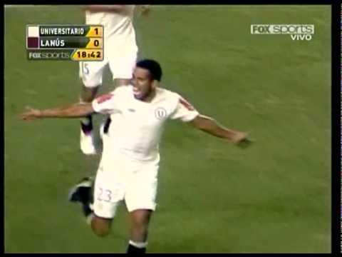 Universitario 2 - Lanus 0 (Gol de Piero Alva)