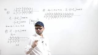 Lecture 20 - Problem Solving on Random Number and Random Variate Generation