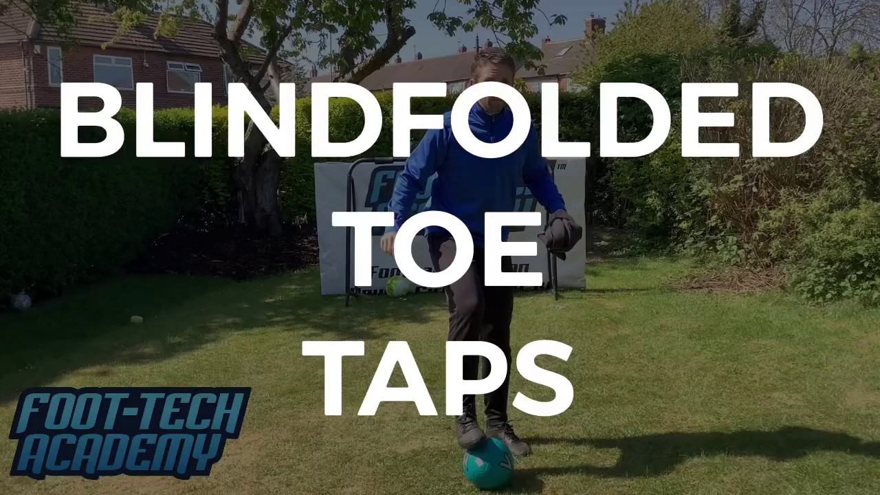 Blindfolded Toe-Taps - How Many Can You Do?