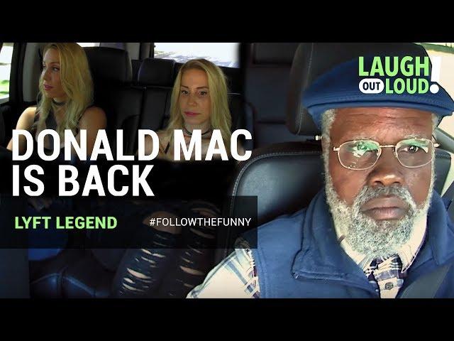 Donald Mac is at it again!   Kevin Hart: Lyft Legend Ep 3   LOL Network