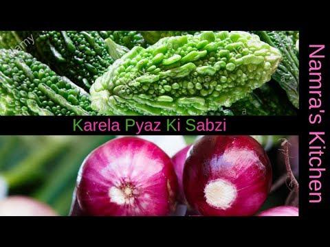 Karela Pyaz Ki Sabzi | How to make Bitter Gourd and Onion