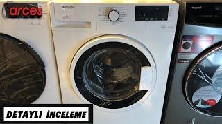 Arçelik 8103 YD 8 Kg çamaşır makinesi tanıtımı ve incelemesi ✅8 Kilo 1000 Devir Çamaşır Makinesi