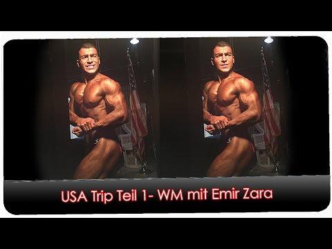 USA Trip Teil 1 - Weltmeisterschaft mit Emir Zara - Teenage 17 Jahre alt