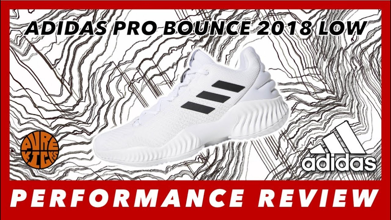 76ccf132cb51 ADIDAS PRO BOUNCE 2018 LOW PERFORMANCE REVIEW - YouTube