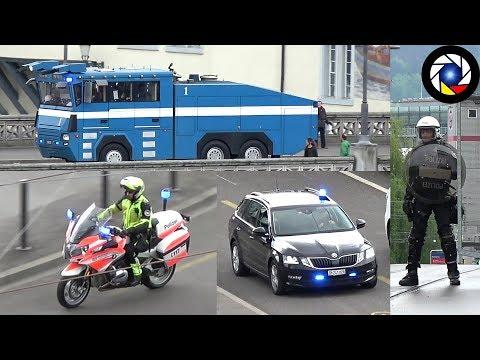 MAY DAY Zurich Riot Police in Action // 1 Mai Zürich Einsatzfahrten