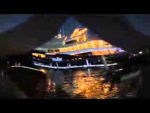 GoPro Hero4 camera filming Abu Dhabi beautiful yachts edited on Sony Vegas