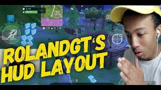 How to Edit HUD Layout like Fortnite Mobile Pro Player RolandGT