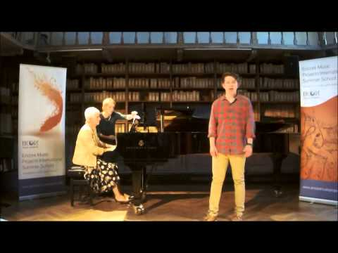 Bernstein:Something's coming:Charlie Pughe@EncoreMusicProjectsInternationalSummerSchool 2015