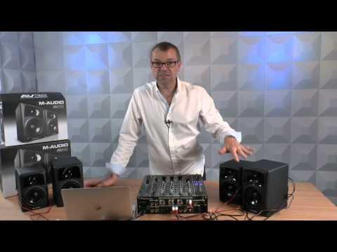 M-Audio AV42 & AV32 Multimedia Speakers Review