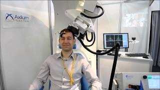Simulation of motor cortex mapping with the Axilum Robotics' TMS-Robot