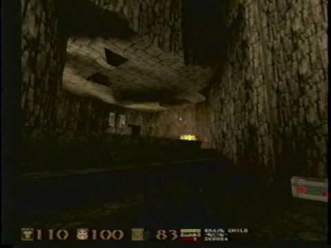 Quakeworld (Quake online) gameplay from 1997 #1