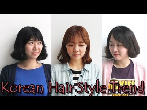 Korean Hair Style Trendhow To Make Bun Wishtrend Youtube